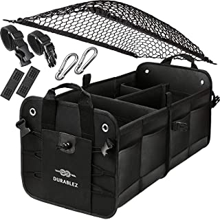 DURABLEZ Trunk Organizer with Covering Net