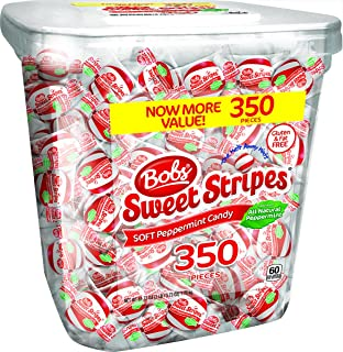Bob's Sweet Stripes Soft Peppermint Candy 350 count