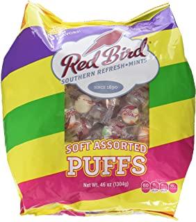 Red Bird Assorted Soft Puffs Mints 240 Pieces