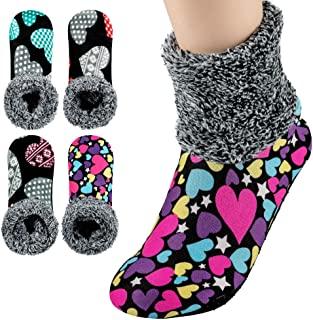 4-5 Pairs Womens Warm Socks Stretch Velvet
