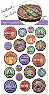 Vintage Bottle Caps for Crafts Stickers Beer Bottle Caps for Crafts