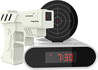 Trademark Games Toy Gun Alarm Clock Game