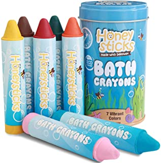 Honeysticks Beeswax Bath Tub Crayons for Toddlers & Kids