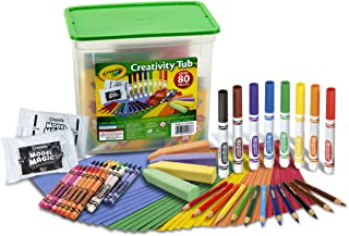 Crayola Creativity Tub Over 80 Art Tools