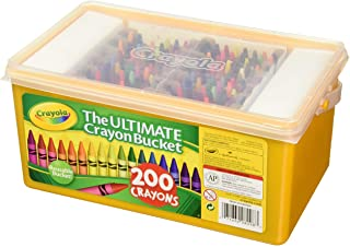Crayola Ultimate Crayon Bucket 200 Crayons