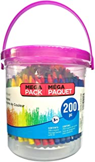 Crayons for Kids with Mega Bucket by Creatology 200 Crayons