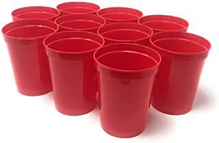 CSBD Stadium 16oz Plastic Cups 10 Pack Blank Reusable Drink