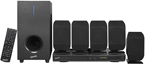 SuperSonic 5.1 Channel DVD Home Theatre System with USB Input