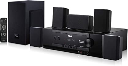 RCA 1000-Watt Audio Receiver Home Theater System Digital 5.1 Surround Sound