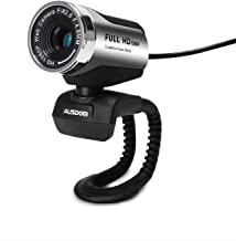 HD Webcam AUSDOM Computer Cameras with USB 2.0
