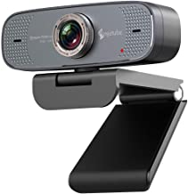 1080P USB Webcam with Mic PC Camera for Video Calling and Recording Video