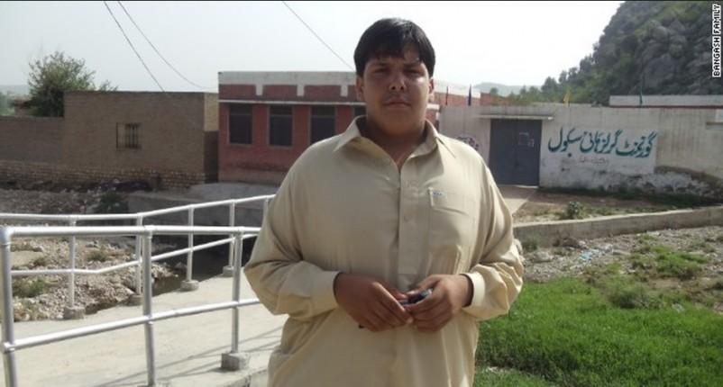 Ninth-grader Aitazaz Hassan Bangash