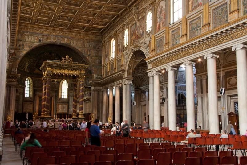 Basilica di Santa Maria Maggiore in Rome 4