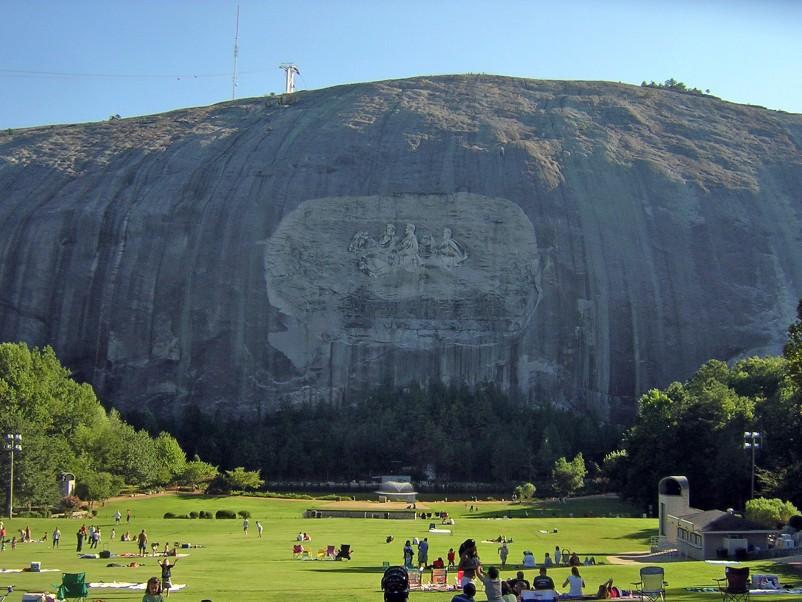 stone mountain in georgia atlanta