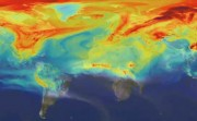 NASA visualization of secret swirling of carbon dioxide