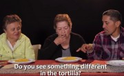 Mexican people try Taco Bell