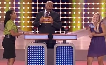 fun moments in Family Feud