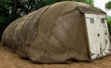 Concrete Tent