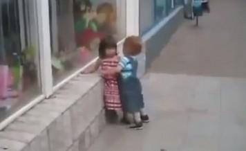 kids versus a hug