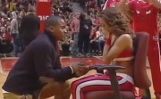 Cheerleader Surprised With Marriage Proposal
