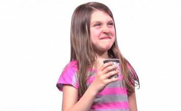 kids try coffee