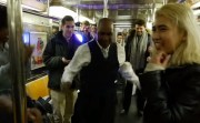 subway dance party