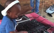 2-year old DJ
