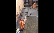 Scaffolder stunt