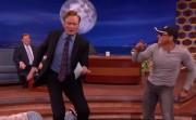 Jean-Claude Van Damme and Conan dancing