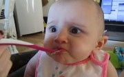 baby's reaction of avocado