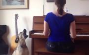 dog as opera singer