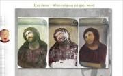 Ecce Homo -  When religious art goes weird