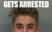 Gets arrested. Thinks it's a photoshoot.