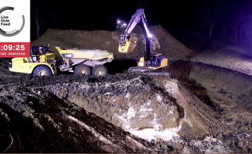 People paid a company more than $80,000 to dig a hole for no reason