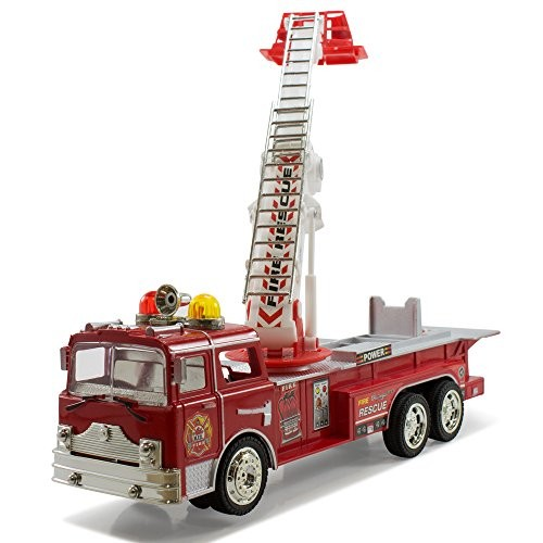 Video Review Kidsthrill Bump And Go Electric Rescue Fire