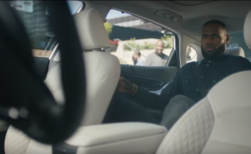 (VIDEO) LeBron James will star in the first big ad push for self-driving cars