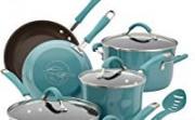 Rachael Ray Cucina Hard Porcelain Enamel Non-Stick Cookware Set