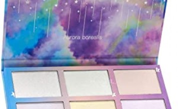 TZ COSMETIX - Aurora Borealis 6 Color Highlighter