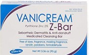 Vanicream Z-Bar Pyrithione Zince 2% Medicated Cleansing Bar
